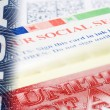 Visa social security — Stock Photo