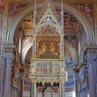 Interior view, Cathedral of Rome - Stock Photo