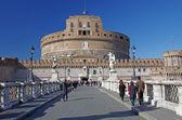 Roma'nın turistik cazibe — Stok fotoğraf