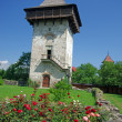 Ancient monastery tower — Stock Photo