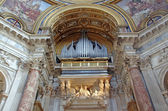 Catholic church organ — Foto de Stock