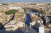 Vatican Basilica view — Stock Photo
