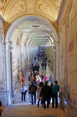 Vatican Museum Gallery — Stock Photo