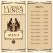 Royalty-Free Stock Vector Image: Business lunch