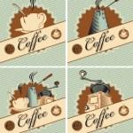 Theme of coffee — Stock Vector #10916853