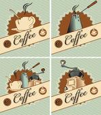 Theme of coffee — Stock Vector