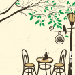 Royalty-Free Stock Vector Image: Open-air cafe
