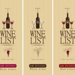 Different wine — Stock Vector