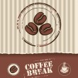 Royalty-Free Stock Vector Image: Coffee beans