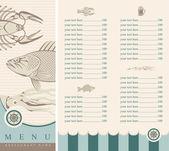 海鲜 — 图库矢量图片