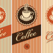 Banners for coffee — Stock Vector