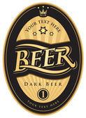 Rótulos da cerveja — Vetorial Stock