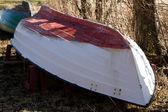 White Boat — Foto de Stock