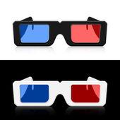 Vector 3D Glasses — Stock Vector
