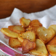 Stock Photo: French chips, baked potatoes