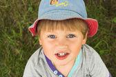 Blue-eyed boy — Stock Photo