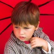 Royalty-Free Stock Photo: Boy with the umbrella