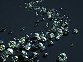 Strip of diamonds — Stock Photo