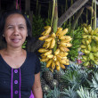 Philippines fruit stall — Stock Photo