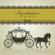 Vintage Luxury carriage — Stock Vector #11117109
