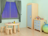 Children room — Stock Photo