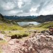 Acherito lake — Stock Photo