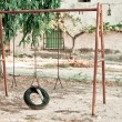 Old swing — Stock Photo