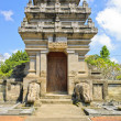 Balinese temple gate — Stock Photo