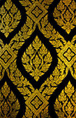 Native Thai floral pattern — Stock Photo