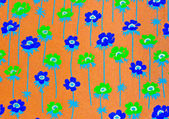 Flower decorative paper — Stock Photo