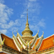 Buddhist temple roof - Lizenzfreies Foto