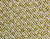 Handcraft reed weave pattern — Stock Photo