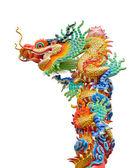 Bunte drachen-statue — Stockfoto