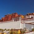 Potala palace, Tibet - Stock Photo