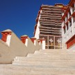 Staircases in Potala palace - Stock Photo