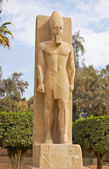Ramses II statue — Stock Photo