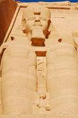 拉美西斯二世的巨大雕像 — 图库照片