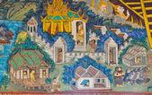 古代タイの壁画 — ストック写真