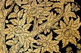 Tajski kwiatowy obraz — Zdjęcie stockowe