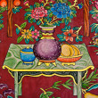 Thai-Chinese style painting — Stock Photo