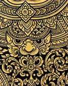 Native Thai art — Stock Photo