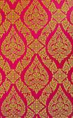 Thai floral pattern — Stock Photo