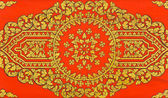 Vintage Thai floral art — Stock Photo