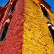 Colorful Tibetan building - Stock Photo