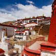 Tibetan temple - Stock Photo