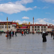 Jokhang temple, Tibet. — Stock Photo