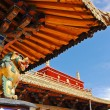Stock Photo: Tibettemple roof decoration