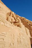 Abu Simbel temple — Stock Photo