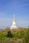 White pagoda on hill — Stock Photo