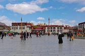 Jokhang temple, Tibet. — Stock Photo